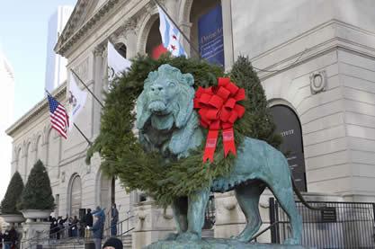 Christmas carols at the Art Institute
