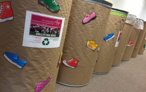 Key Club teams up with AID for a shoe drive