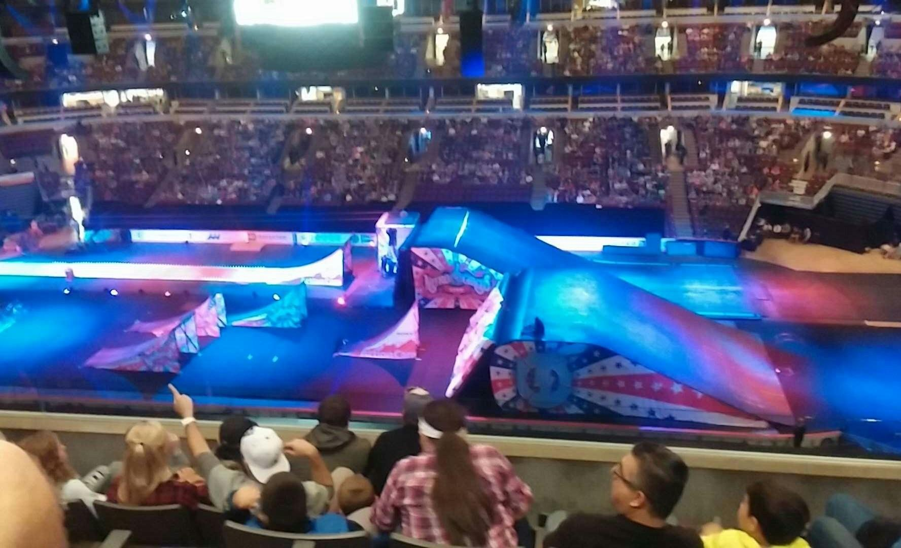 Nitro Circus before the action.