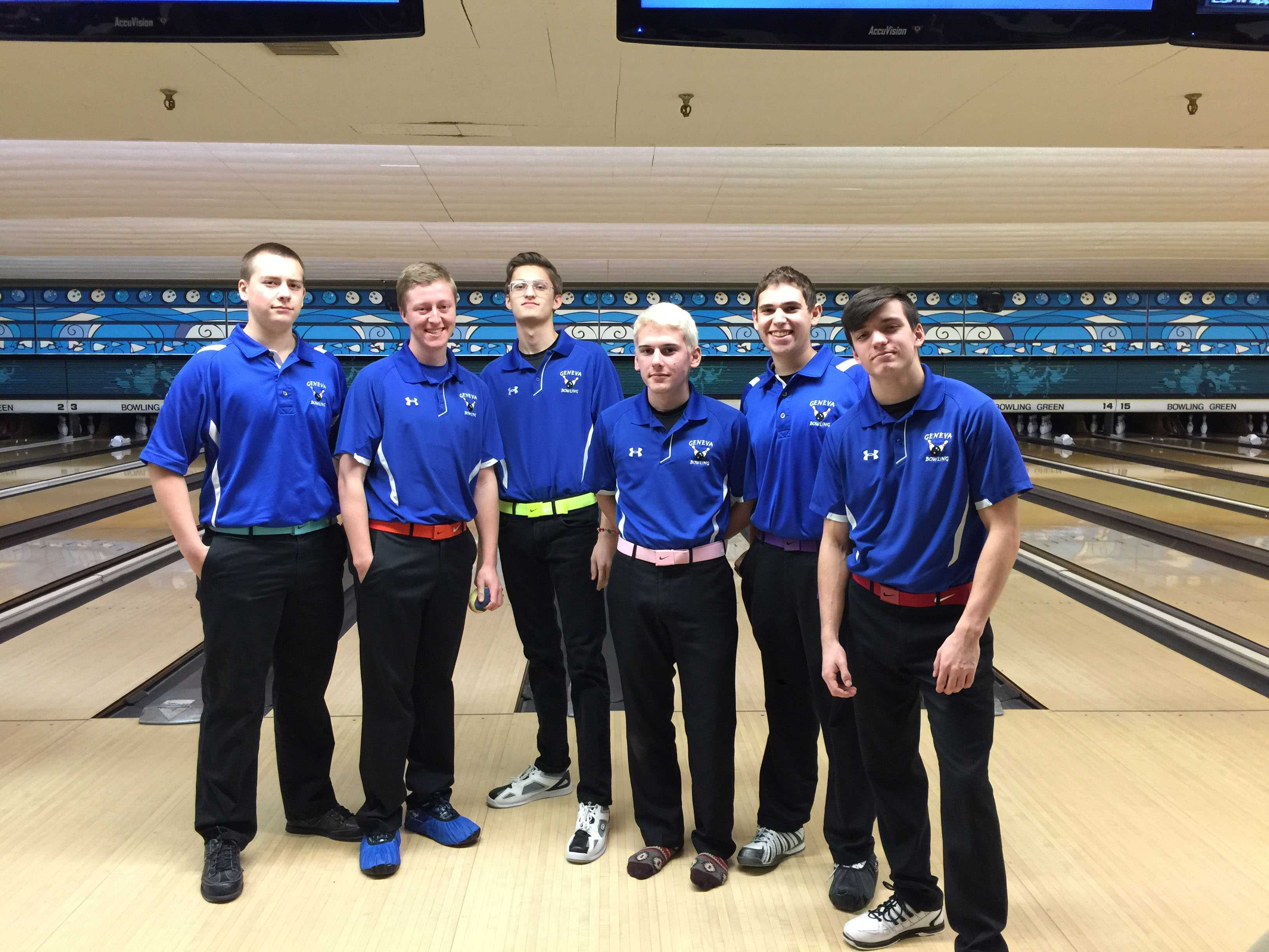 Geneva Boys Bowling team poses and reflects on a successful season.