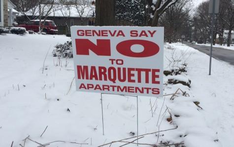 Geneva say no to Marquette Apartments?