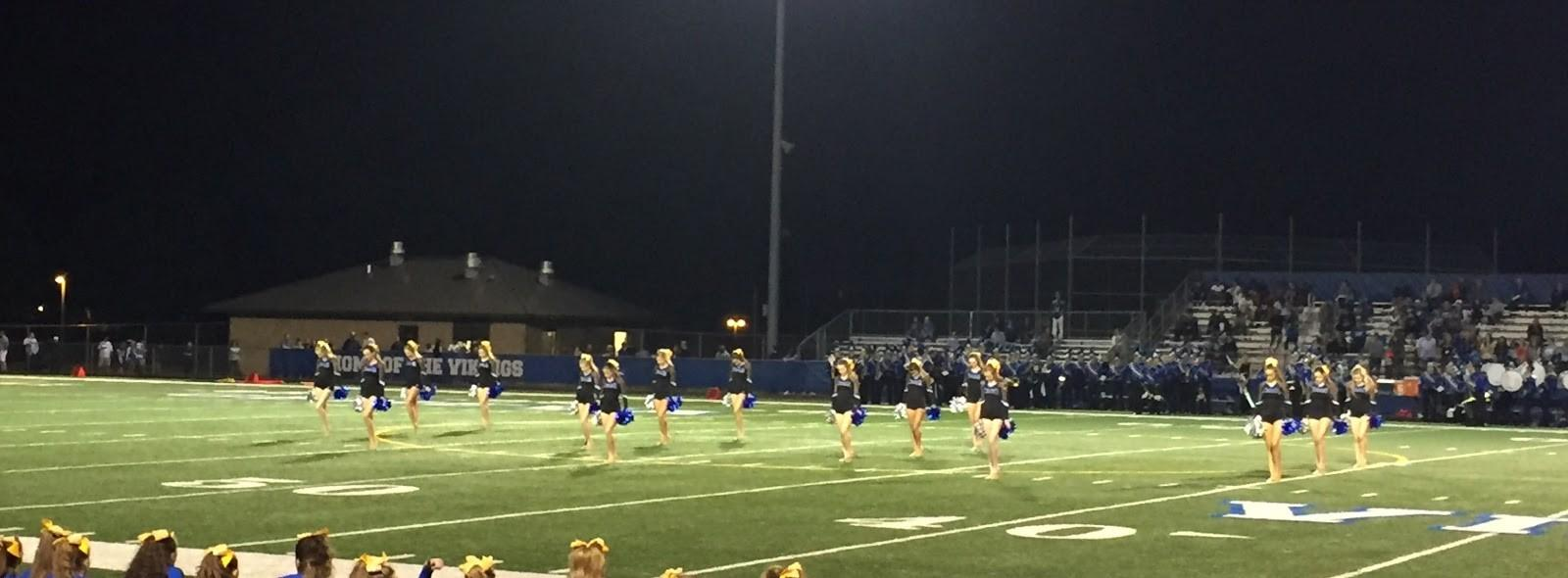 Varsity Dance Team performing during homecoming