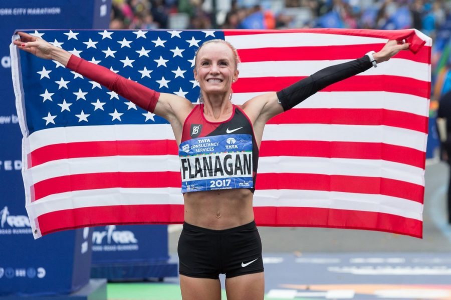 Record-breaking run at the NYC Marathon 2017