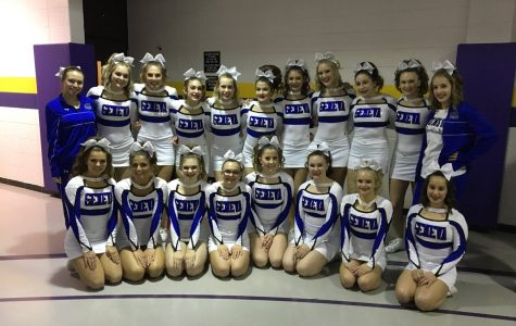 Geneva Cheer Places Third at Competition