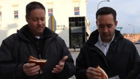 "GTV's ""Snacking With Santo"" (Geneva's Very Own Food Critic)"
