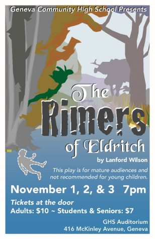 "Geneva High School Presents Lanford Wilson's ""The Rimers of Eldritch"""