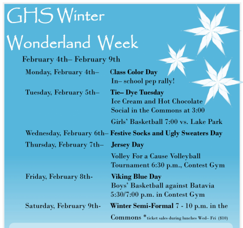 Winter Wonderland Week 2019