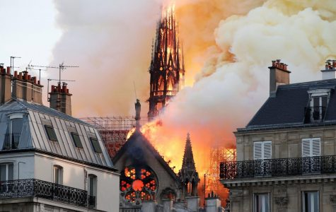 Notre Dame Cathedral Catches Fire