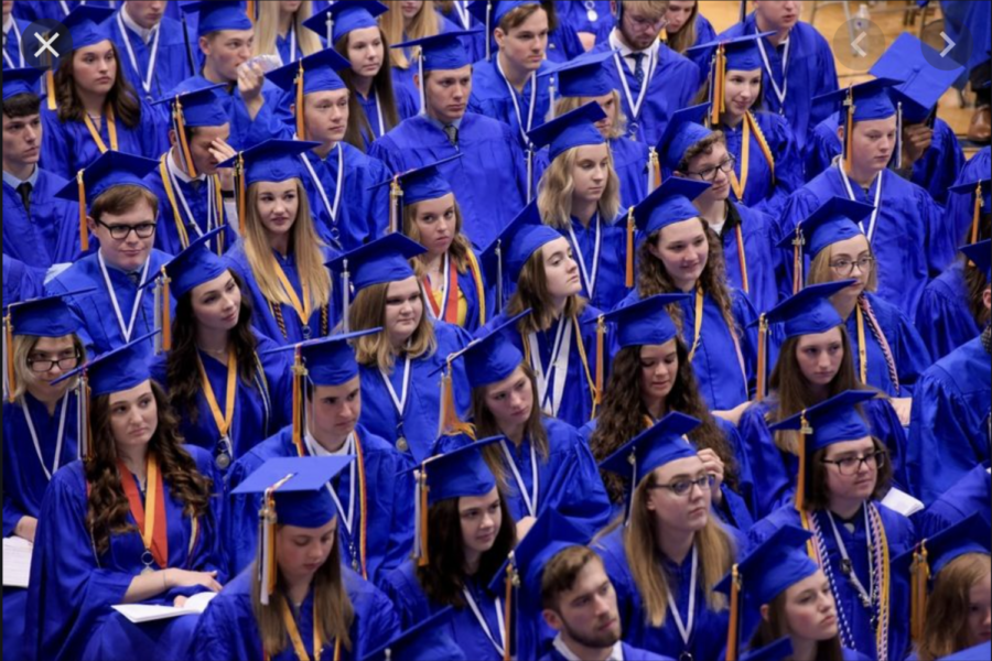 Class of 2019 graduation; Credits: Daily Herald